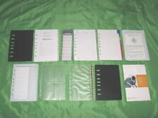 Classic 1 Year Undated Refill Tab Page Lot Franklin Covey Planner Fill Set E