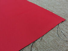 Pillowbox red soft lined blackout material remnant crafts fabric piece 210x220cm