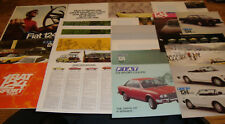 1972 1973 1974 1975 1976 1977 1978 1979 1980 1981 Fiat 124 Sales Brochure Lot 22