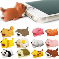 Animal Cartoon Cable Bite Phone USB Saver Cover Charger Data Cord Protector