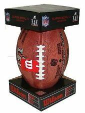 Wilson Authentic Super Bowl Li (51) Official Game Football Patriots Falcons