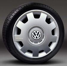 """Set de 4 (16 """") enjoliveurs, Caps HUB pour s' adapter VW, BEETLE transp.t5, Golf"""