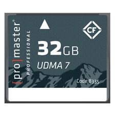 ProMaster Professional 32GB Rugged Compact Flash Memory Card  #8335