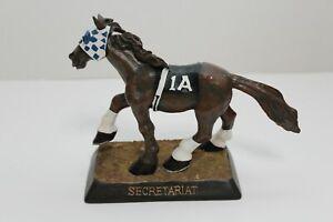 Secretariat 1A Black Saddlecloth Kentucky Derby Ltd Edition Bobblehead Rare