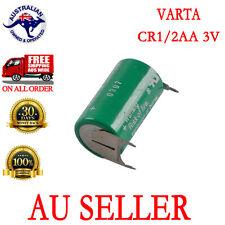 VARTA Battery 3V CR 1/2AA CR14250 W/2Pin tabs for CNC PLC backup AU Seller