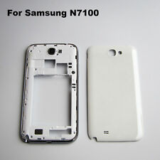 Full housing middle frame bezel battery door back cover for galaxy note 2 n7100