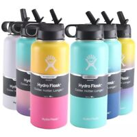 Hydro Flask Wide Mouth 40oz Water Bottle - Graphite