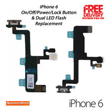 NEW OEM Replacement On/Off Power/Lock Button+Dual LED Flash Repair FOR iPhone 6