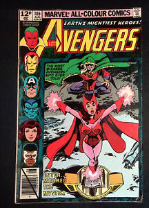 Avengers #186 Bronze Age Marvel Comics 1st appearance of Chthon F+