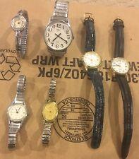 Women's/Ladies Timex Watch Lot (good shape)-6 Watches