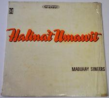 Philippines MABUHAY SINGERS Halina't Umawit OPM LP Record
