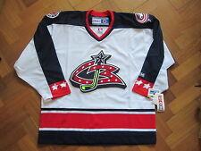 Rare Bnwt NHL Columbus Blue Jackets away shirt jersey 2003/04 taille L