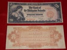 1912 UNC. US/PHILIPPINES 20 PESO BANK COPY NOTE READ DESCRIPTION!