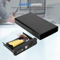 3.5inch HDD Enclosure USB 2.0 SATA/IDE External Hard Disk Drive Case US Plug FOY