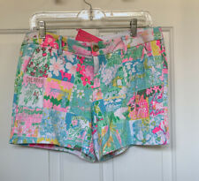 NWT: Lilly Pulitzer Callahan Knit Short Pop-Up Lily State Of Mind SIZE: 8