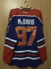 NHL EDMONTON OILERS CANADA ICE HOCKEY JERSEY REEBOK PLAYER ISSUE MCDAVID #97