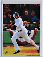 David Ortiz Authentic Artist Signed 2016 Limited Edition Print Card 3 of 5.