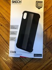 iPhone XS Max Skech Stark Minimal Naked Shockproof Protective Case Color Black