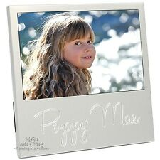 New Personalised Engraved Name Silver Photo Frame Picture Unique Custom Personal
