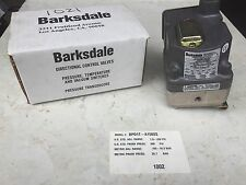 NEW BARKSDALE DPD1T-A150SS PRESSURE/VACUUM ACTUATED SWITCH 1.50-150. PSI 480 VAC