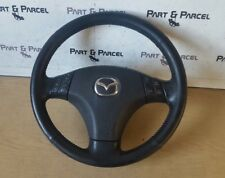 GENUINE MAZDA 6 LEATHER STEERING WHEEL WITH CRUISE CONTROL