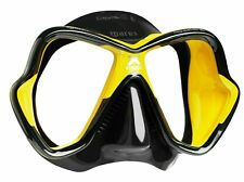 BRAND NEW Mares X-Vision Ultra Liquidskin Scuba Diving Snorkeling Mask Yel/Blk