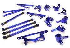C26393BLUE Integy Billet Machined Suspension Kit for HPI 1/10 Scale Crawler King