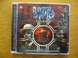 Doctor Who Colditz, 2001 Big Finish audio book CD *SIGNED, OUT OF PRINT*
