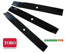 """savers choice GENUINE Toro TIMEMASTER 50"""" Blade SET ( 3 ) 79016P 021038790169"""