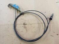 "FRAME RAIL EMERGENCY BRAKE CABLE FITS 99 00 01 02 03 04 FORD F250 F350 142"" WB"