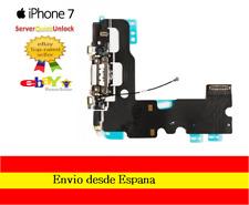 Conector Carga para Iphone 7 Color Negro o Blanco Jack Auricular Microfono