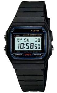 Black Referee Match Official Digital resin strap Unisex Stopwatch Watch New Ref