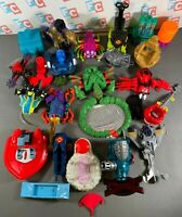 Toy Biz Toybiz Marvel Spider-Man X-Men Figure Accessory Weapons Lot Stands
