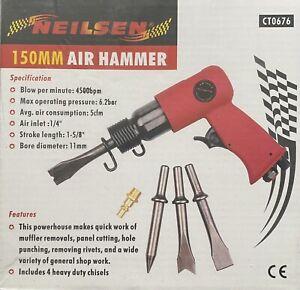 150mm Air Hammer Kit Neilsen CT0676