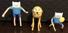 Adventure Time Finn & Jake Cartoon Network figures Mcdonalds Lot of 3