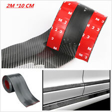 2M Carbon Fiber Door Sill Scuff Welcome Pedal Threshold Protecter Stickers