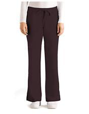 New listing Grey's Anatomy Ladies 5 Pocket Drawstring Scrub Pants Brown Xs Nwt