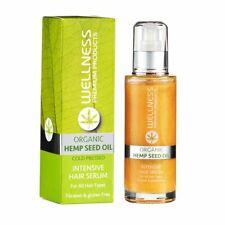 Wellness Premium Products Organic Hemp Seed Oil Hair Serum 3.4oz/100ml NEW