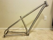 TWiN2 CYCLES ASPASIA Ti 29er FRAME ECCENTRIC BB INTERNAL CABLE ROUTING BOOST