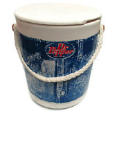 Dr. Pepper Barrel Cooler with recipe pamphlet and insert