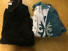 Lot of 2 Wildfire Women's Western Shirt Size S (9