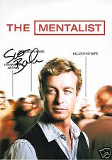 SIMON BAKER - THE MENTALIST AUTOGRAPH SIGNED PP PHOTO POSTER