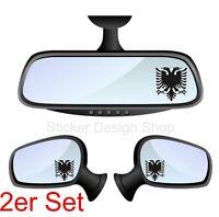 Albanien Albania Albanischer Adler Spiegel Aufkleber Sticker Auto Laptop Handy