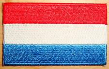 LUXEMBOURG Country Flag Embroidered PATCH Badge
