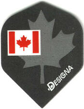 Flag of Canada with Maple Leaf Background Dart Flights: 3 per set