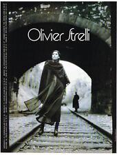 PUBLICITE ADVERTISING  1984   OLIVIER STRELLI  par Dominique ISSERMANN
