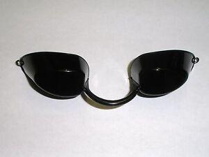 Tanning Bed Eyewear EYECANDY Goggles  protection BLACK