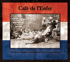 CAFE de l'Enfer Marchant CD 2011 Derniere Volonte Death in June current 93 Rome