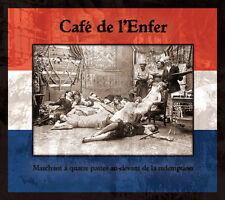 "CAFE DE L'ENFER ""Marchant CD 2011 LJDLP Death in June Derniere Volonte TMLHBAC"