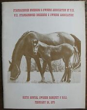 1979 Standardbred Breeders of N.H. 6th Annual Awards Banquet Program